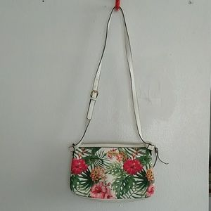 Gorgeous tropical Franco Sarto crossbody bag